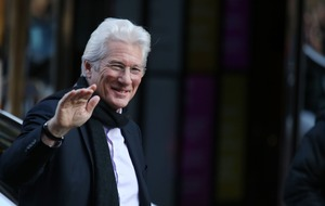 Richard Gere and wife confirm baby rumours as they are blessed by Dalai Lama