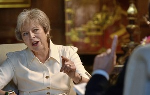 Theresa May gets 'irritated' by debate over her leadership
