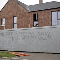 'Offensive and sectarian' Glengormley grafitti condemned
