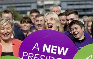Sinn Féin presidential candidate vows to be a new president for a new Ireland