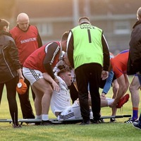 Connor McAliskey suffers broken ankle as Clonoe exit Tyrone SFC to Ardboe
