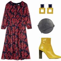 Fashion: Four fabulous ways to style a midi dress, perfect for autumn