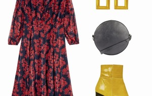 Fashion: Four fabulous ways to style a midi dress, perfect for autumn