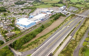 Prominent Newry commercial site on market for £450,000