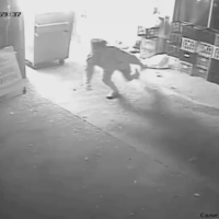 Watch: Man blasted off feet as he flees exploding cheese factory