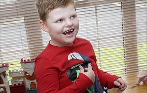 Angelman syndrome boy Sam 'gives the best hugs and slobbery kisses' says mum