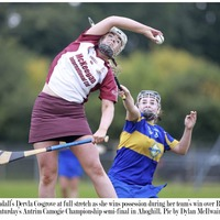 Cushendall and Loughgiel camogs to contest Antrim final
