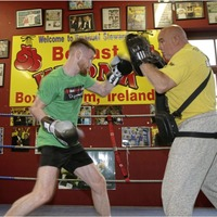Boston bound James Tennyson packs a punch in preparation for world title showdown with Tevin Farmer