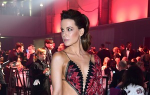 Kate Beckinsale jokes about her daring GQ dress