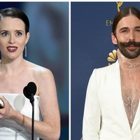 Claire Foy 'saved' by Queer Eye star as she is 'denied entry to Emmys party'