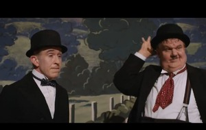 Steve Coogan and John C Reilly as Laurel and Hardy in first Stan & Ollie trailer