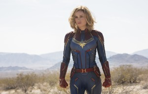 Brie Larson crashes to earth in first Captain Marvel trailer