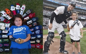 An eight-year-old girl threw a pitch at every MLB park with her 3D-printed hands