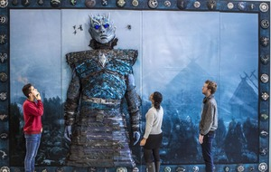 Huge Game of Thrones embroidery goes on show in Glasgow