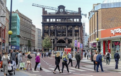 Jake O'Kane: Bank Buildings blaze a reminder that buildings are the backdrop to our lives