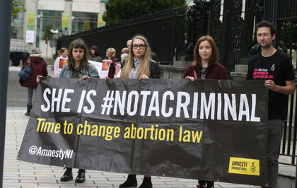 Abortion pill accused in 'fear and pain' over pending prosecution