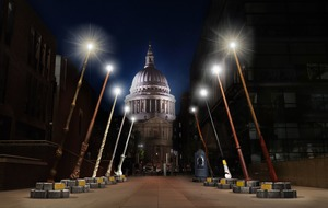 Giant Harry Potter wands to light up London for JK Rowling charity