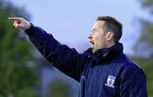 There is room for the two of us: Newry City boss Darren Mullen ahead of Warrenpoint Town derby