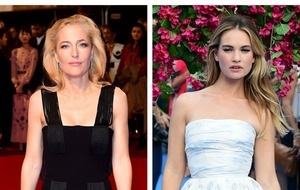 Gillian Anderson and Lily James to star in stage version of All About Eve