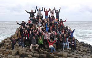 Young people from Coleraine and Donegal 'Sleep for Peace'