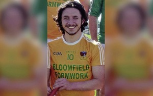 Clonduff GAC dedicates championship title win to Pearce Branagan