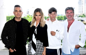 Robbie Williams bets on X Factor triumph over Louis Tomlinson