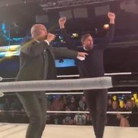 Watch: Former Norwich City striker Grant Holt wins on wrestling debut
