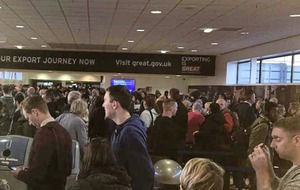 Belfast International Airport apologises for security delays