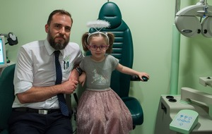 First eye check uncovers schoolgirl's brain tumour