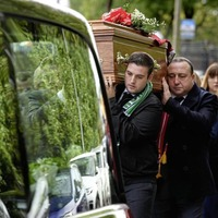 Hundreds gather in Ballyclare for funeral of Storm Ali victim Matt Campbell (24)