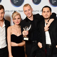 Wolf Alice set to return to UK albums chart after winning Mercury Prize