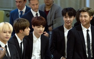 BTS make historic speech at United Nations