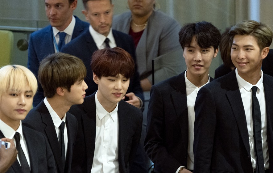 BTS make historic speech at United Nations - The Irish News