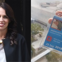 New Zealand PM's baby attends UN assembly, gets adorable ID card