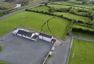 GAA club 'can't use grounds for years' after sinkhole split pitch