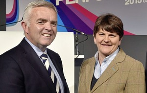 Arlene Foster voices regret over not sacking Jonathan Bell