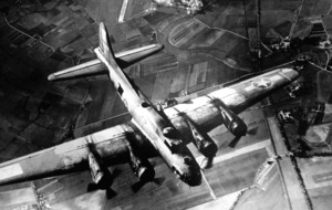 Allied Second World War bombing raids disturbed atmosphere at edge of space