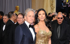 Catherine Zeta Jones wishes Michael Douglas happy birthday with homemade video