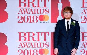 Ed Sheeran up for BMI London song of the year award for third time in a row