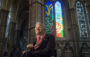 David Hockney: I hope Queen likes my stained glass window tribute