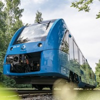 World's first hydrogen-powered trains take to the tracks in Germany