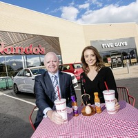 Nandos and Five Guys to open in Craigavon next week, creating 100 jobs