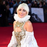 Lady Gaga wears Elizabethan outfit to UK premiere of A Star Is Born