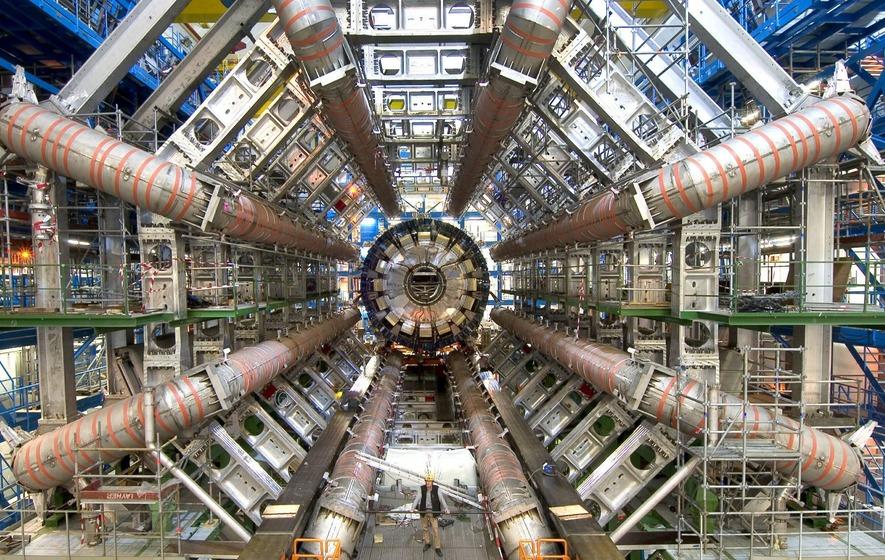 large hadron collider operator suspends scientist in