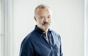 Graham Norton on dark times, being 'overpaid' and being accepted by other writers