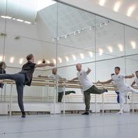 EastEnders hardman Jake Wood learns to pirouette