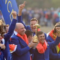 Watch the video that inspired Europe to victory in the Ryder Cup