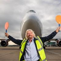 Sir Richard Branson welcomes landmark Virgin Atlantic biofuel flight