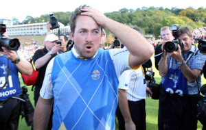 On This Day - Oct 4 2010: Graeme McDowell beats Hunter Mahan to secure Ryder Cup win for Europe