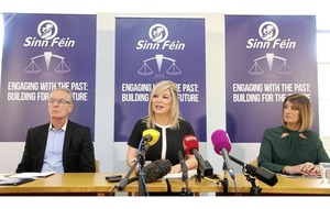 Unionist anger as Sinn Féin brand British government 'main conflict protagonist'